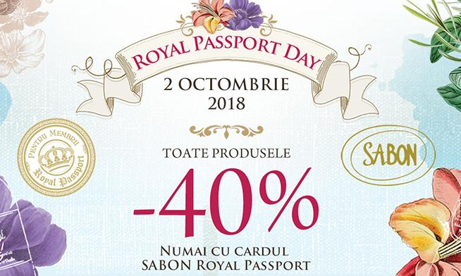 Royal Passport Day la Sabon