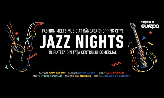 Fashion meets jazz at Băneasa Shopping City!