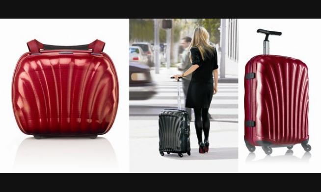 Tehnologia Curv® - secretul Samsonite pentru valize ușoare si confortabile!