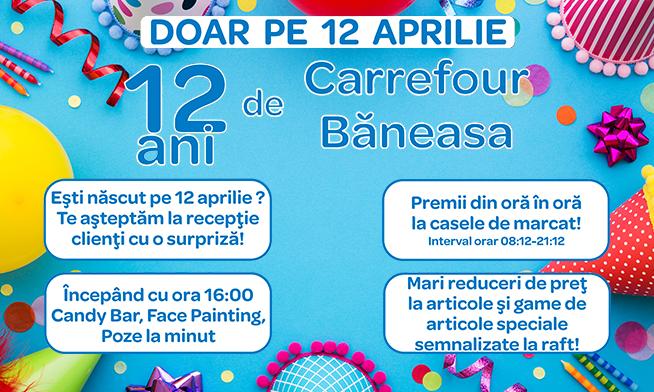 Oferte de ziua ta, în Carrefour