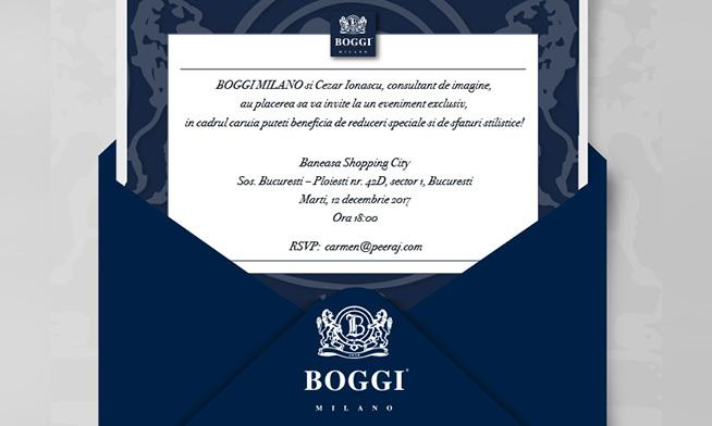 Boggi Milano - Eveniment exclusiv
