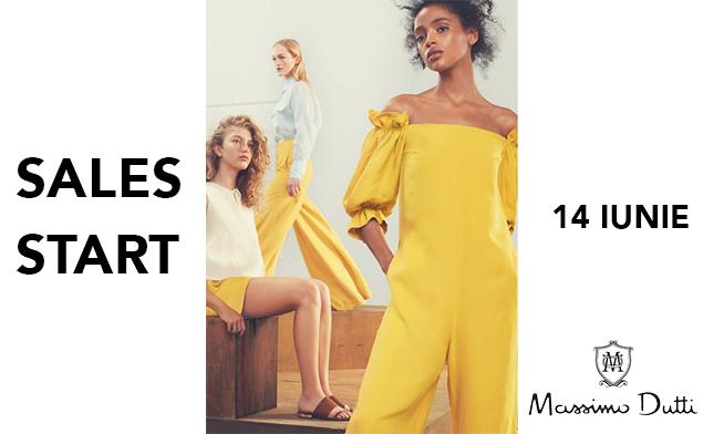 Summer Sales Massimo Dutti pe 14 iunie
