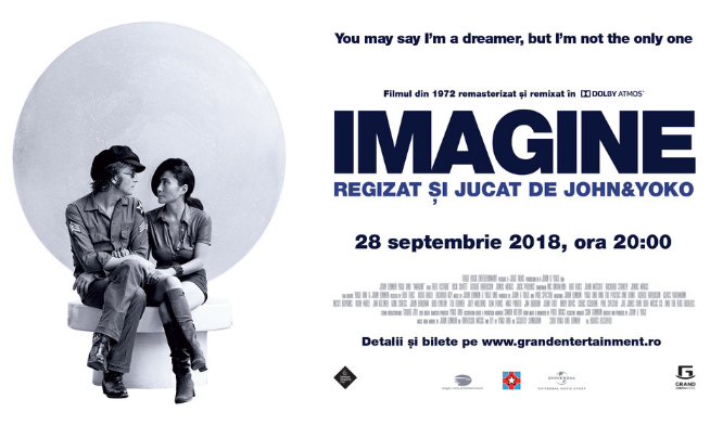 John and Yoko's Imagine în Dolby Atmos