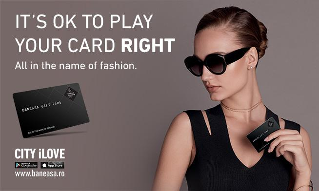 Oferă cadou o experiență luxury de shopping!