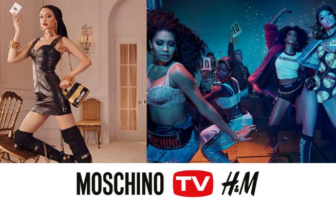 MOSCHINO [tv] H&M exclusiv în Băneasa Shopping City