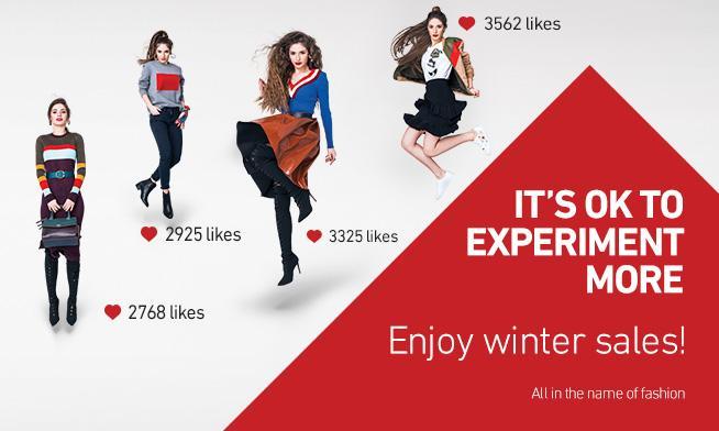 """Băneasa Shopping City prezintă """"The Fashion Experiment"""" și te invită să profiți de reducerile de iarnă"""
