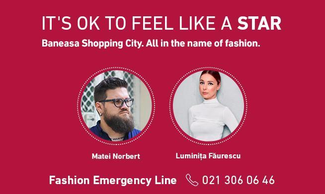 Află sfaturi personalizate de stil cu Fashion Emergency Line!