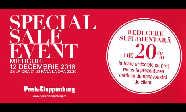 Special Sale Event la Peek&Cloppenburg