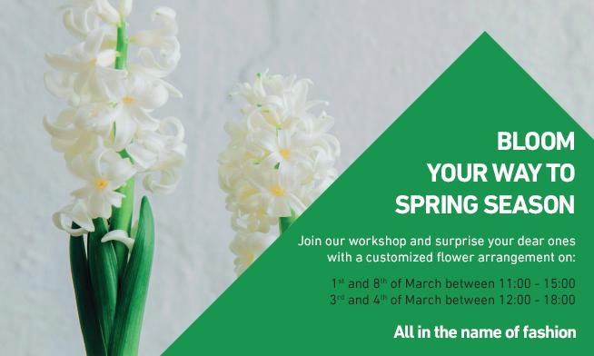 Bloom you way to spring season