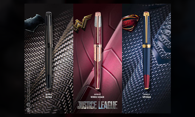 Caran d'Ache presents its new Justice League Trinity special edition