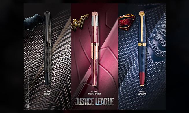 Caran d'Ache prezintă noua colecție Justice League Trinity