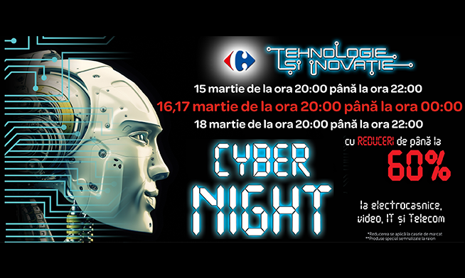 Carrefour Cyber Night with discounts up to 60%