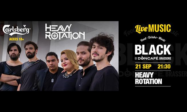 Heavy Rotation live @ Black By Don Cafe!