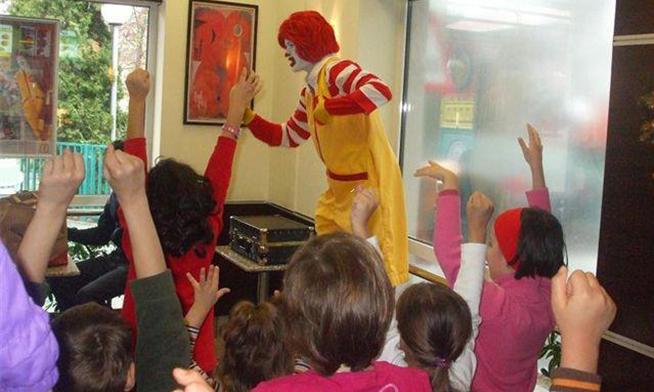 Spectacol cu Ronald McDonald