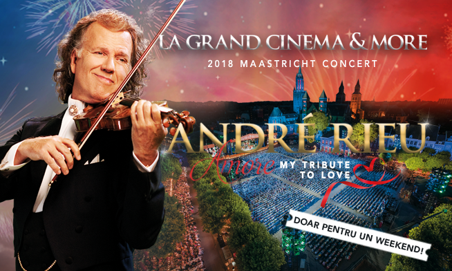 Concert André Rieu – Amore, My Tribute To Love