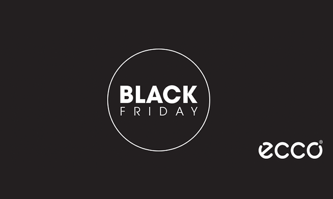 ECCO launches the Black Friday campaign