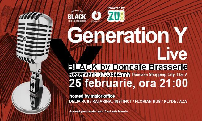 """Generation Y"" live music concert"