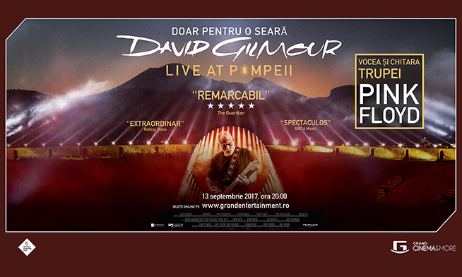 Concert David Gilmour - Live At Pompeii