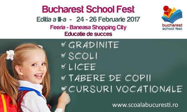 Bucharest School Fest 2017