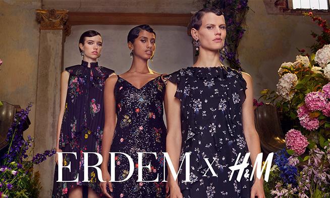 H&M și Erdem lansează în luna noiembrie colecția limitată de designer 2017