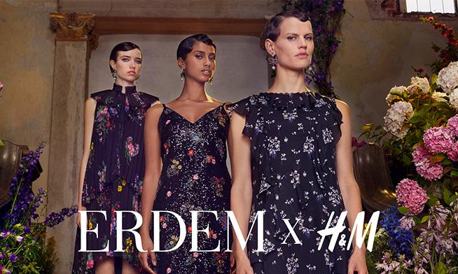 H&M and Erdem are launching the 2017 designer's collection in November