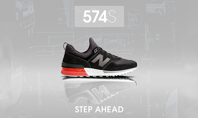 New Balance 574 Sport - Step into the future