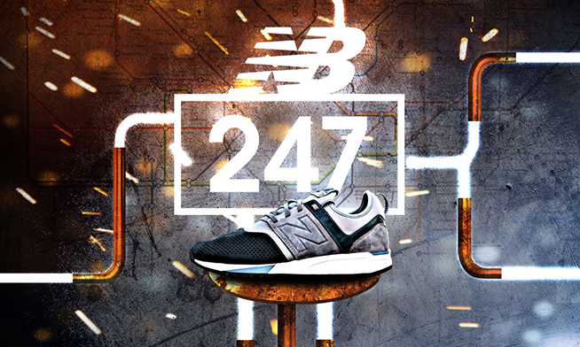 New Balance 247 collection is available in Buzz store