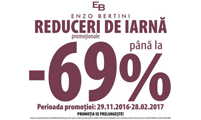 Promotie de iarna Enzo Bertini