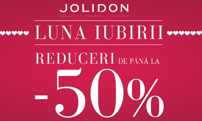 Promotie Jolidon in luna februarie