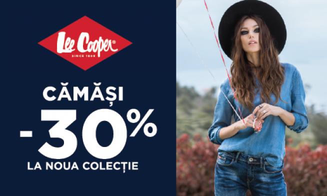Lee Cooper - Promo la camasi - 30%