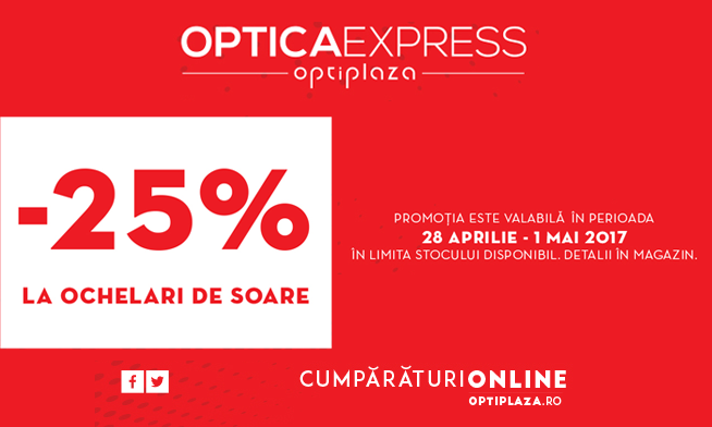Promotie Optica Express -25%
