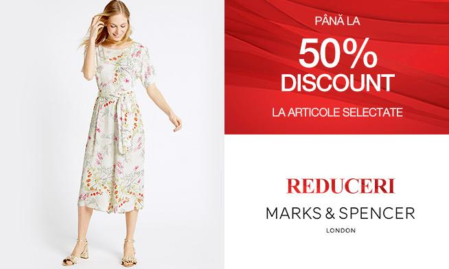 Promo Marks & Spencer - up to 50% discount