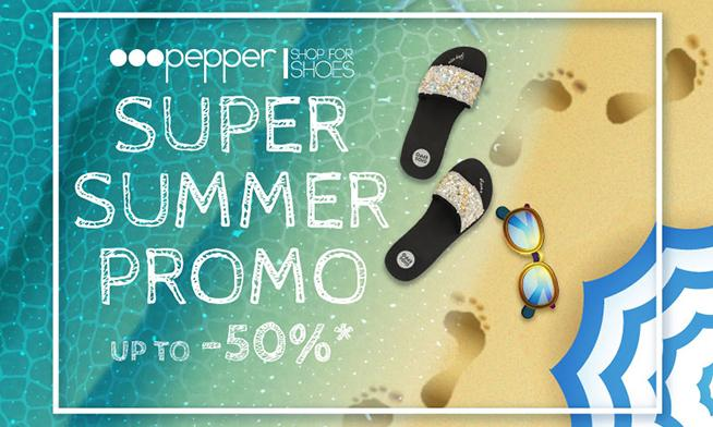 Promo Pepper - Up to 50% discount