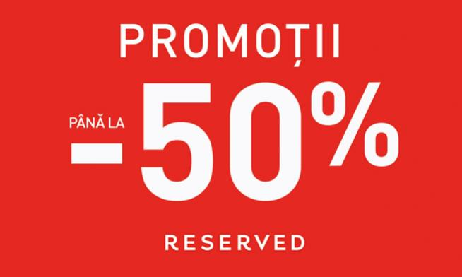 Promo Reserved - Up to 50% discount