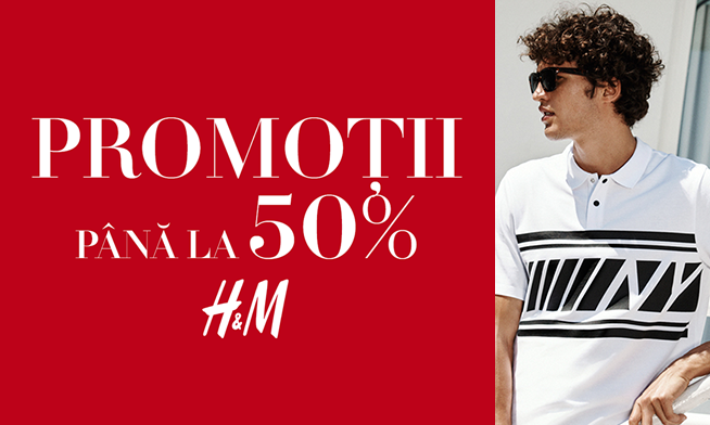 Promo H&M - Up to 50% discount