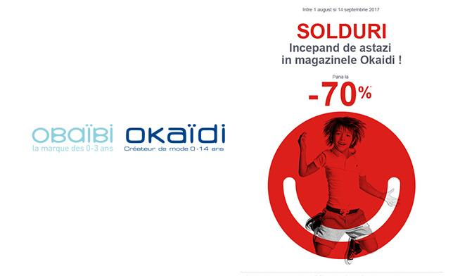 Promo Okaidi - Up to 70% discount
