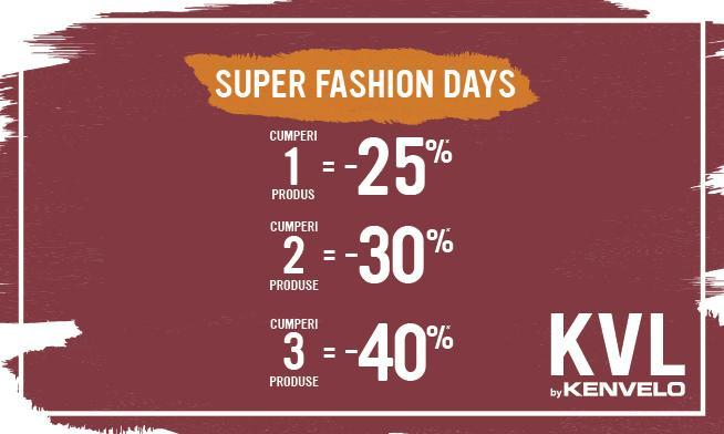 Kenvelo - Super Fashion Days
