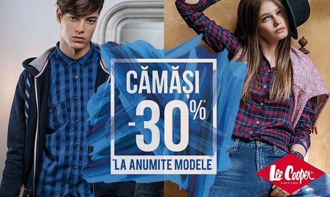 Promo Lee Cooper - 30% discount