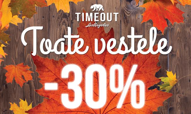 Promo Timeout - 30% discount