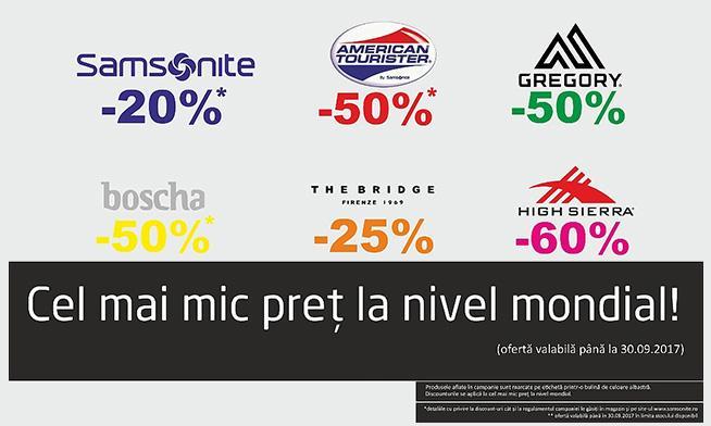 Promo Samsonite - Extra discounts