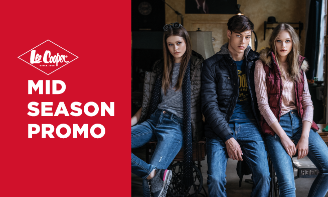 Promo Lee Cooper - Up to 50% discount