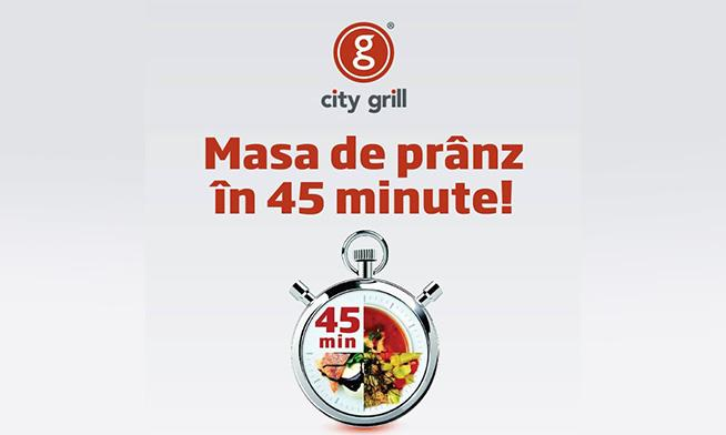 City Grill - Promo 5 meals + 1