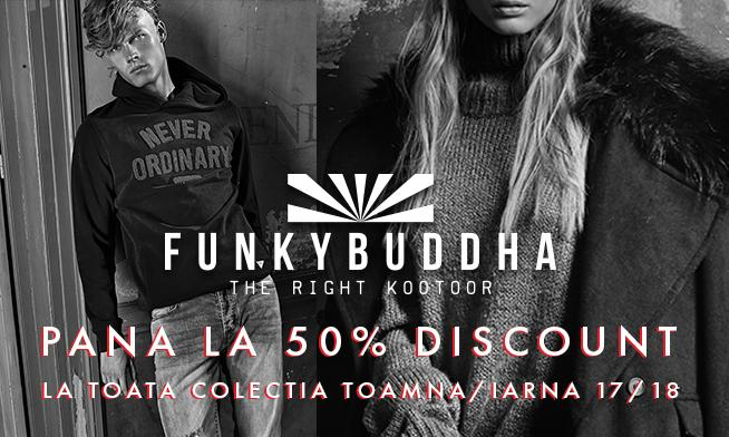 Funky Buddha- Discounts up to 50%