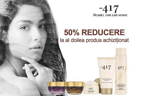 Sensiblu - reducere de 50% la al doilea produs achiziționat