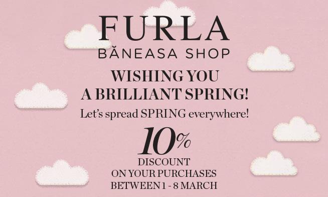 Furla - spring brings discounts up to 10%