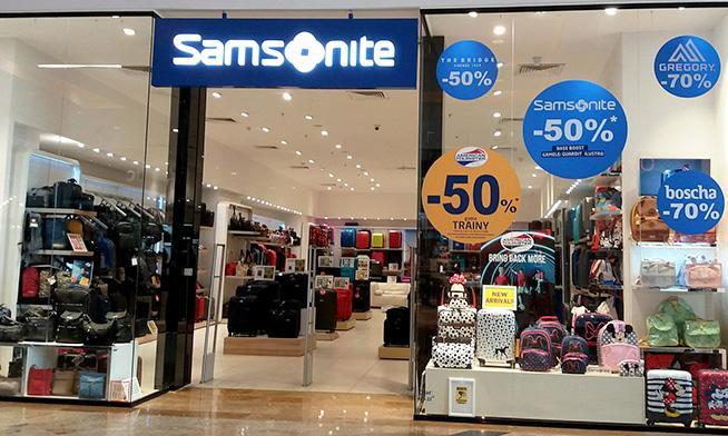 Samsonite - reduceri de până la 70%