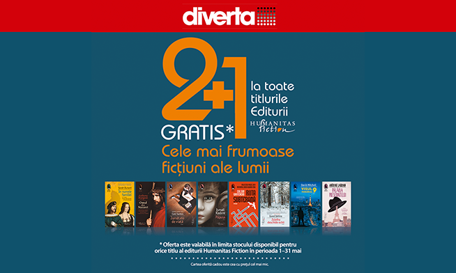 Diverta offer- purchase 3 books and pay for 2