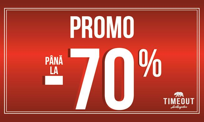 Timeout Promo - up to 70% discount