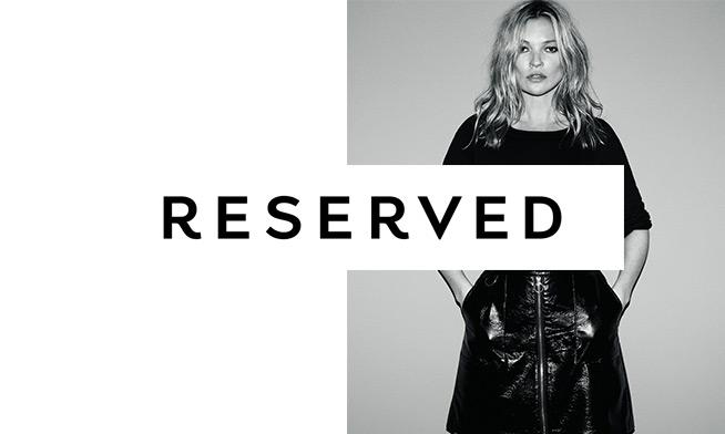 Kate Moss - noua imagine Reserved