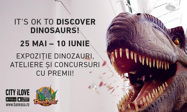 Băneasa Shopping City te invită în lumea dinozaurilor!
